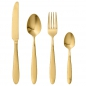 Preview: Bloomingville Besteck-Set Brushed Gold