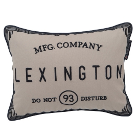 "Lexington Kissen ""Do Not Disturb"""