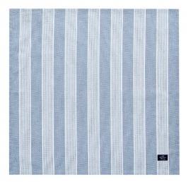 "Lexington Serviette ""Striped Blue"""