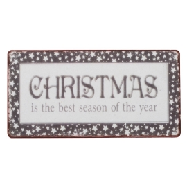 "IB Laursen Magnet ""Christmas is ..."""