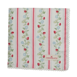"GreenGate Limited Edition Serviette ""Gloria White"""