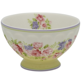 "GreenGate French Bowl ""Rose Pale Yellow"""