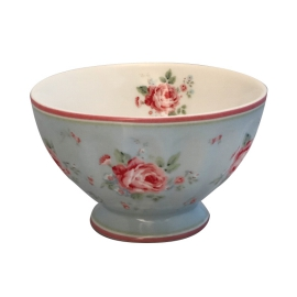 "GreenGate French Bowl ""Marley Pale Blue M"" ltd. Edition"