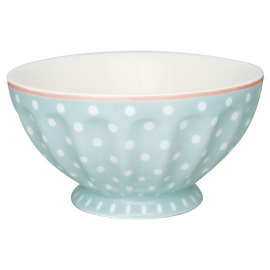 "GreenGate French Bowl ""Spot Pale Blue"" XL"