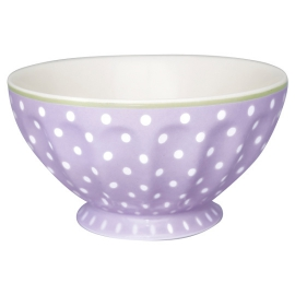"GreenGate French Bowl ""Spot Lavender"" XL"