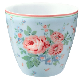 "GreenGate Latte Cup ""Marley Pale Blue"" ltd. Edition"