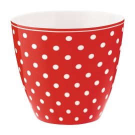 "GreenGate Latte Cup ""Spot Red"""