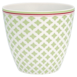 "GreenGate Latte Cup ""Sasha Green"""
