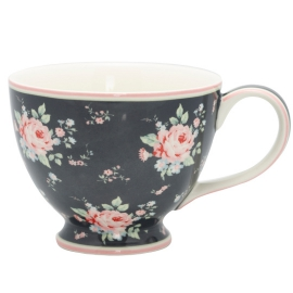 "GreenGate Teetasse ""Marley Dark Grey"""