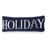 "Lexington Kissen ""Knitted Holiday Blue"""