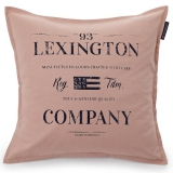 "Lexington Kissenhülle ""Classic Graphic Sham"" Pink"