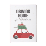 "IB Laursen Schild ""Driving Home for Christmas"""