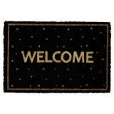 "Gate Noir by GreenGate Fußmatte ""Welcome"""