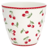 "GreenGate Latte Cup ""Cherry White"""