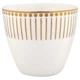 "Gate Noir by GreenGate Latte Cup ""Dawn Gold"""