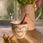 Preview: GreenGate Latte Cup Heart Love White