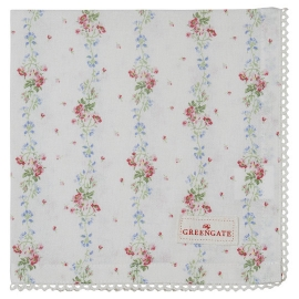 GreenGate Serviette Sinja White