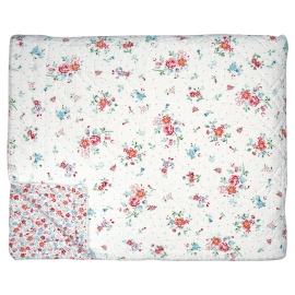 GreenGate Quilt Belle White