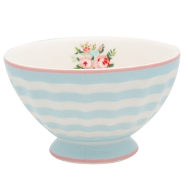 GreenGate French Bowl Nellie Pale Blue