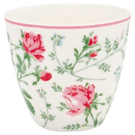 GreenGate Latte Cup Constance White