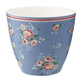"GreenGate Latte Cup ""Nicoline Dusty Blue"""