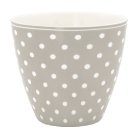 "GreenGate Latte Cup ""Spot Grey"""