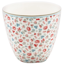 "GreenGate Latte Cup ""Tilly White"""