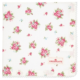 GreenGate Serviette Abigail White