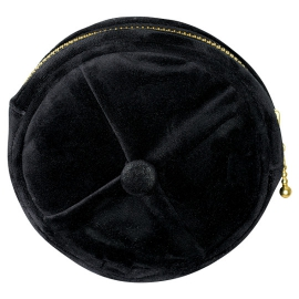 "Gate Noir by GreenGate Kosmetiktasche ""Black Round"""