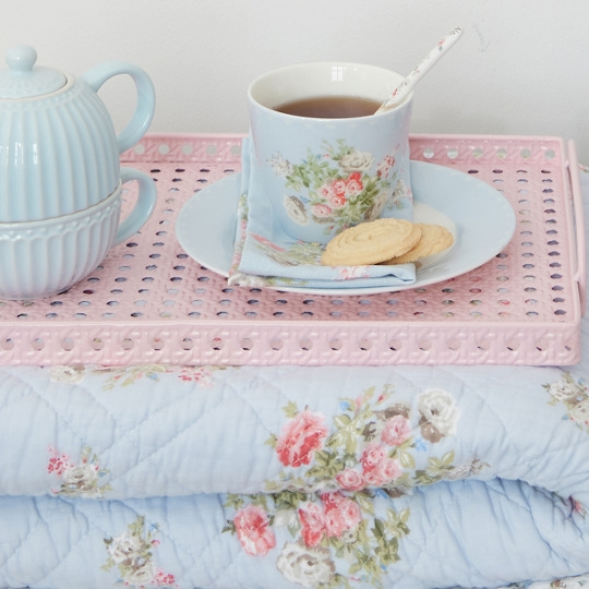 GreenGate Latte Cup Petricia Pale Blue
