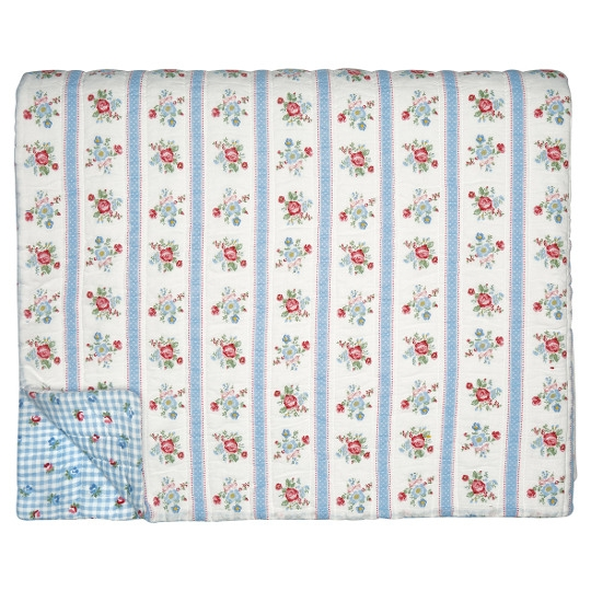 GreenGate Quilt Evie White